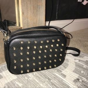 Spikey crossbody purse